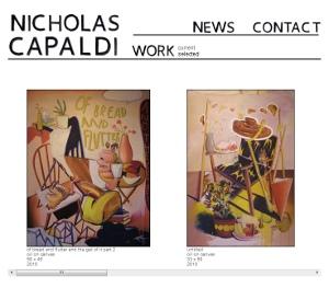 Nicholas Capaldi Art