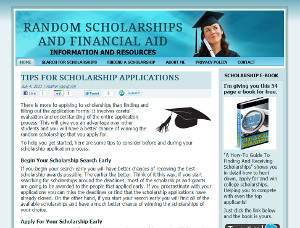 Random Scholarships Online